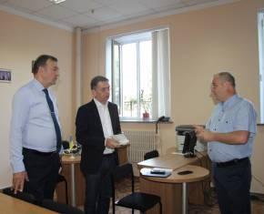Заступник Міністра юстиції Гія Гецадзе відвідав Юридичну клініку Національного юридичного університету імені Ярослава Мудрого.